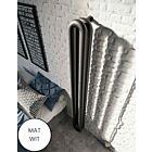 Instamat design radiator Tubone-V dubbel element mat wit - 170 x 21 cm