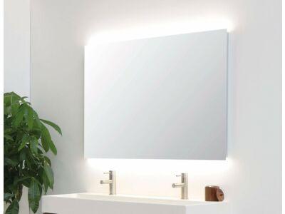 Spiegel rechthoek met LED boven en onder (9 varianten)