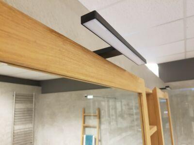 Mat Zwart Opbouw LED spiegel