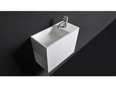 Ideavit Solid Surface toiletfontein/wastafel Solidwash