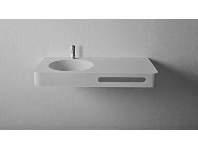 Ideavit Solid Surface wastafel Solidbrio