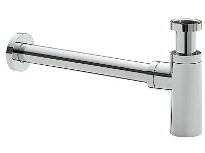Design sifon rond chroom