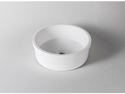 Krion Solid Surface waskom onderbouw Ø 40 cm