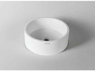 Krion Solid Surface waskom opbouw Ø 40 cm