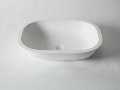 Krion Solid Surface waskom onderbouw 50 x 36 cm