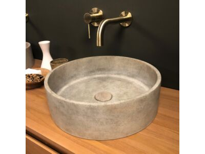 Ideavit betonnen waskom Ora beige - 39 cm