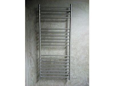 RVS geborsteld design radiator 60cm breed (6 verschillende hoogtes)