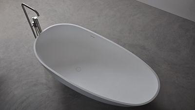 Solid Surface vrijstaand bad Solidleaf