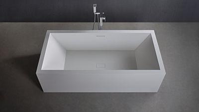 Solid Surface vrijstaand bad Solidvitas