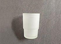 Ideavit Solid Surface glazen beker Solidsteel