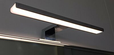 Chrome Opbouw LED spiegel