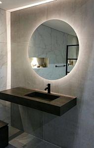 Spiegel rond met LED (10 varianten)
