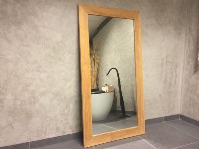 Teak spiegel 184x70 cm