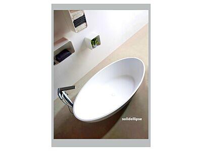Ideavit Solid Surface vrijstaand bad Solidellipse