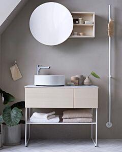 Mastello mat witte elektrische handdoekwarmer Jay 175 cm