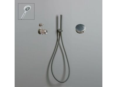 Mastello RVS 316L badset vulcombinatie met thermostaat en handdouche - set 13