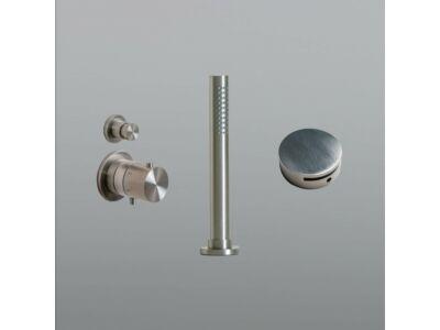 Mastello RVS 316L badset vulcombinatie met thermostaat en inbouw handdouche - set 14