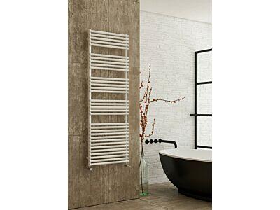 Instamat handdoekradiator met aansluitset Bologna glans wit - 116 x 60 cm