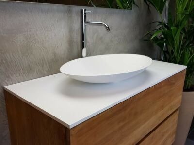 Solid Surface afdekplaat 12mm Solid Copertura 90