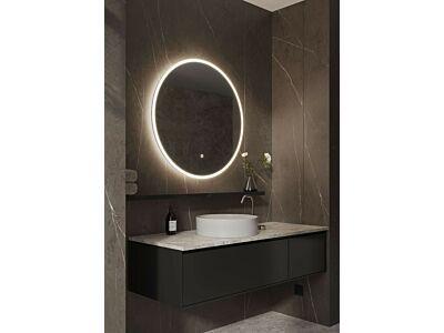 Blend ronde spiegel Porto met led en spiegelverwarming - 80 cm